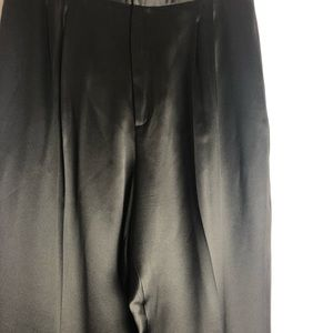 Dana Buchman Pants - Dana Buchman Brown 100% Silk High Waist Pants 12
